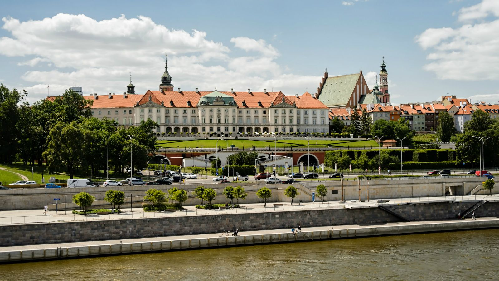 The Westin Warsaw - Panorama od Old Town in Warsaw